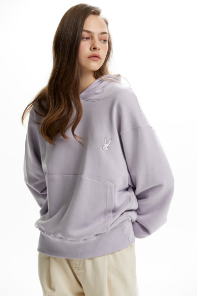 MOON BUNNY HOODY LIGHT PURPLE