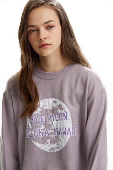 MOON SWEATER LIGHT PURPLE