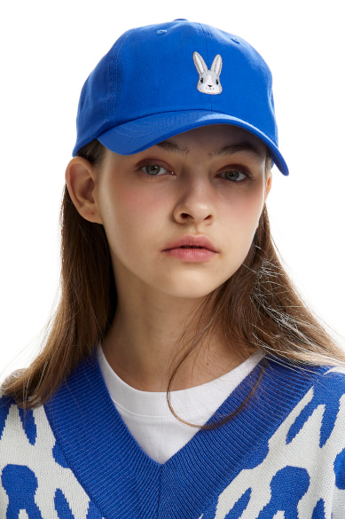MOON BUNNY BALL CAP ULTRAMARINE